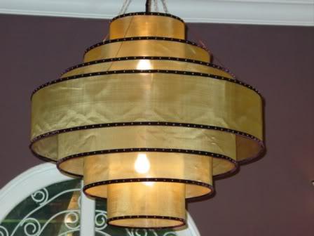 Đèn lụa thả trần 17