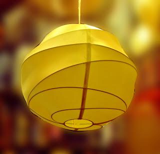 Đèn lụa thả trần 29