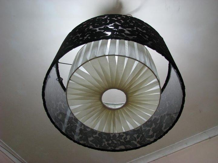 Đèn lụa thả trần 11