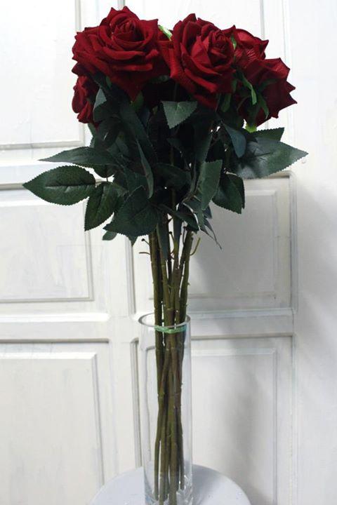 Hoa lụa cắm bình 08