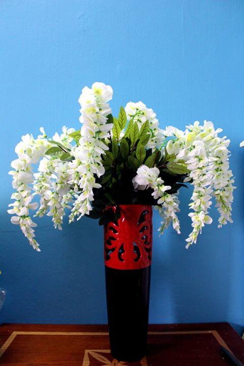 Hoa lụa cắm bình 12
