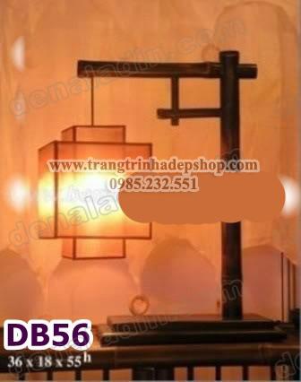 Đèn để bàn chân đế gỗ mẫu 152