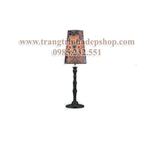 Đèn để bàn chân đế gỗ mẫu 193