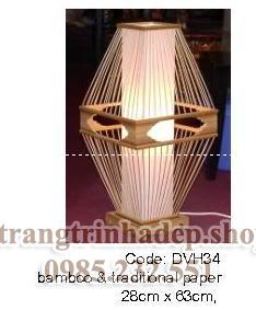 Đèn lụa cây trang trí mẫu 04