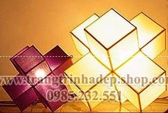 Đèn lụa cây trang trí mẫu 08
