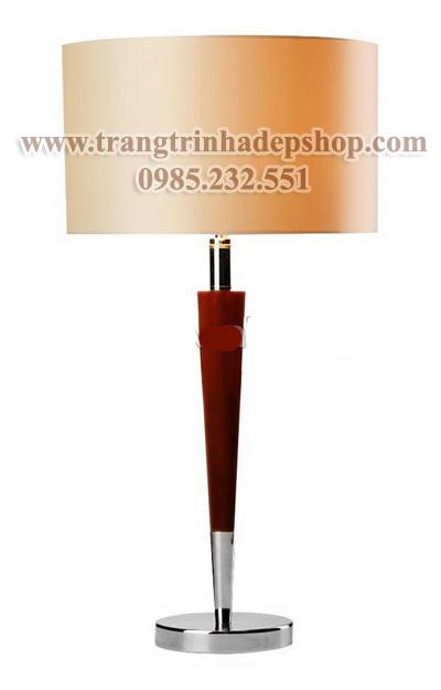 Đèn để bàn chân đế sắt, inox mẫu 11
