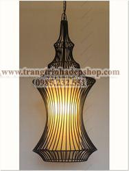 Đèn khung sắt nghệ thuật mẫu 04
