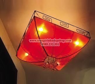 Đèn khung sắt nghệ thuật mẫu 06