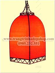 Đèn khung sắt nghệ thuật mẫu 08