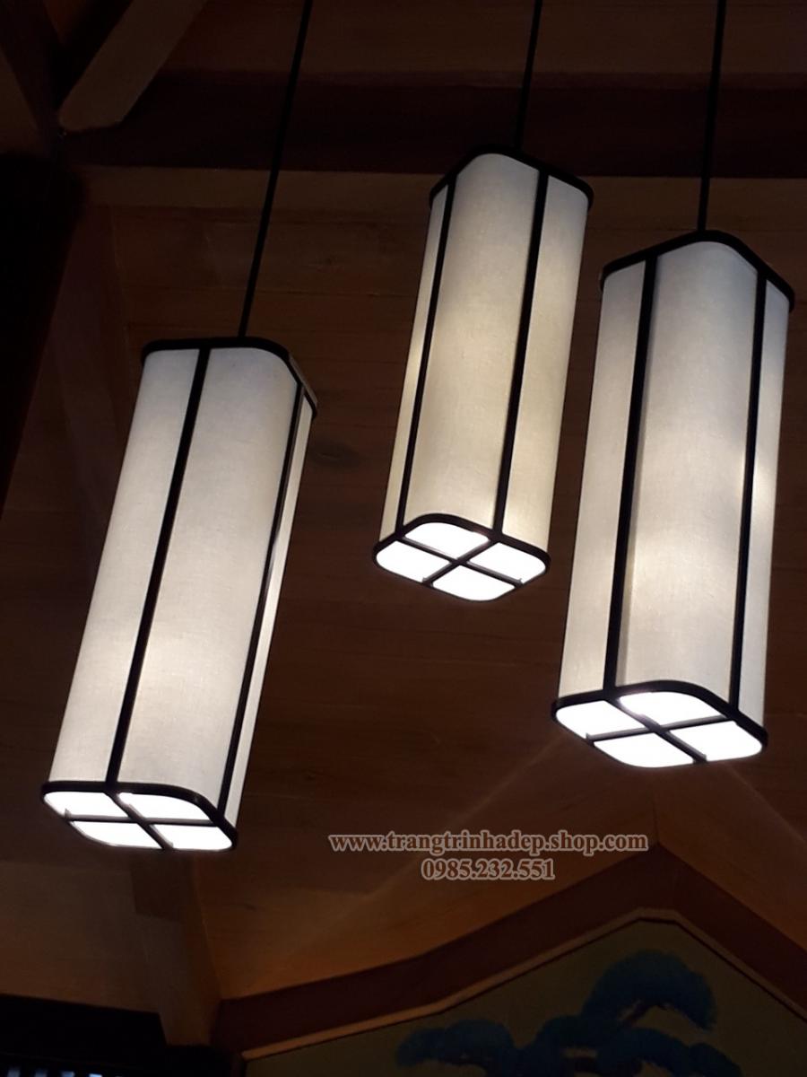 Đèn lụa thả trần trang trí mẫu 40