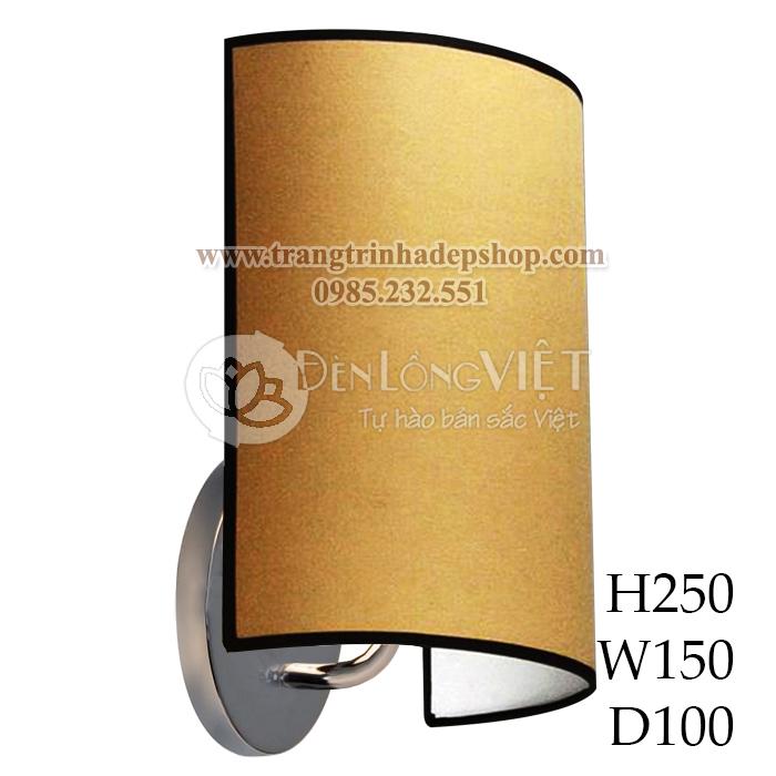 Đèn ốp tường khung sắt, inox mẫu 06