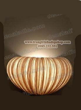 Đèn vải nhăn ốp tường mẫu 09