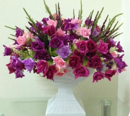 Chọn hoa lụa để trang trí nhà